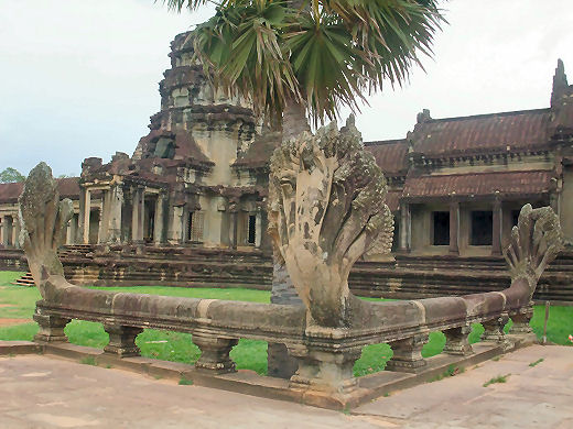 Naga at Angkor Wat